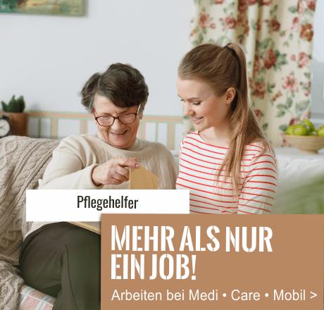 Jobs bei MediCareMobil Pflegehelfer