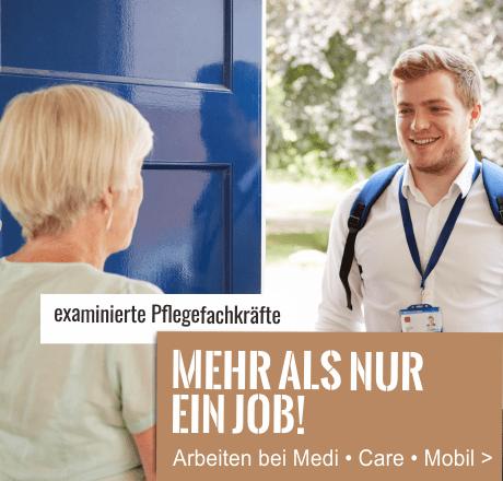 Jobs bei MediCareMobil Pflegekräfte